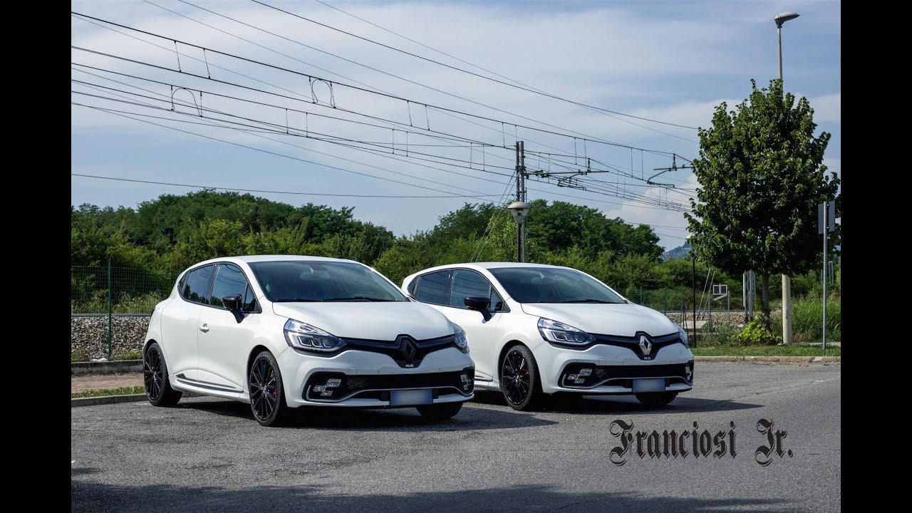review details renault clio rs trophy 2017 youtube
