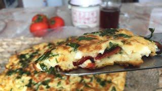 #Evdekaltürkiye 📌 Kahvaltıya Daha Çayınız Demlenmeden Bir Yumurta ile Börek Lezzetinde NEFİS bi tar