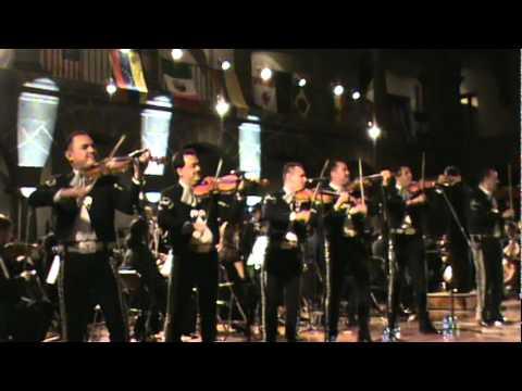 YOA Orchestra of the Américas y El Mariachi Vargas de Tecalitlan La negra.