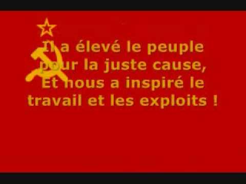 hymne-de-l'urss-(traduction-en-francaise)
