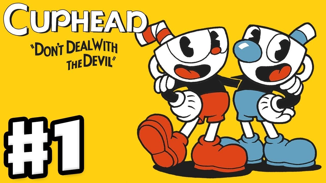 Cuphead - Gameplay Walkthrough Part 1 - Don't Deal with the Devil! World 1 Bosses! (PC) - YouTube