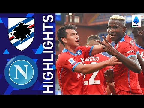 Sampdoria 0-4 Napoli | Napoli storm the Marassi | Serie A 2021/22