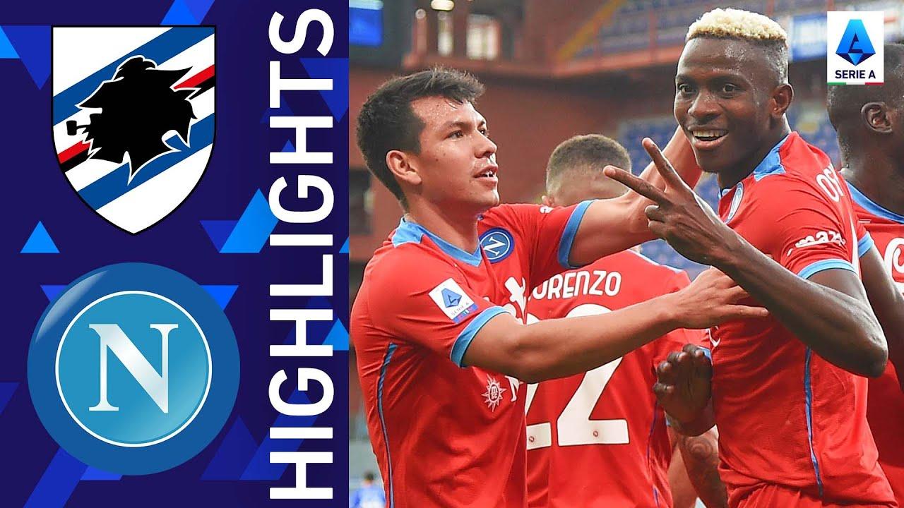 Download Sampdoria 0-4 Napoli | Napoli storm the Marassi | Serie A 2021/22
