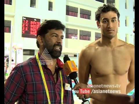 Malayali N Suresh Kumar coach of Virdhawal Khade : National Games 2015