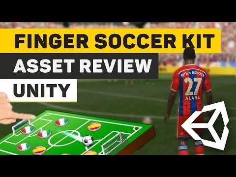 Asset Review: Finger Soccer Game Kit Unity
