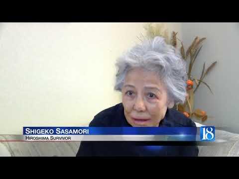 Hiroshima bombing survivor shares her story