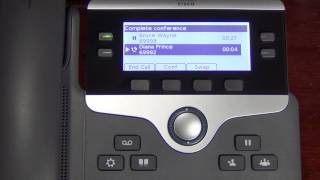 Cisco 7800 Series Phone Training 4: Conferencing