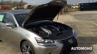 ★ 2016 Lexus GS 350 Full Review /Start Up /Exhaust /Short Drive ║ Car Crash Compilation