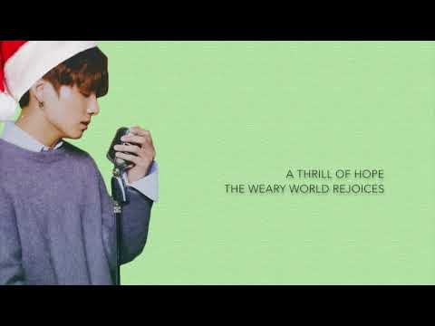 BTS Jungkook - 'Oh Holy Night' (Cover) [Eng Lyrics]