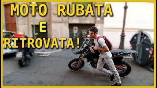HO RITROVATO LA MOTO RUBATA!!! | Suzuki DRZ SM 400 |