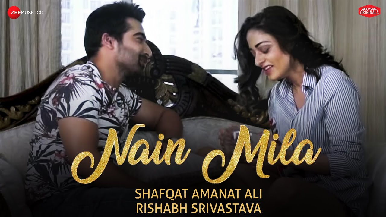 Nain Mila | Shafqat Amanat Ali | Rishabh Srivastava | #ZeeMusicOriginals | Sad Love Song