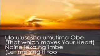 Damiano Mwana Mfumu  lwimbo inshi lyric video