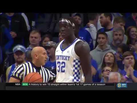 Troy vs Kentucky   NCAA Basketball 2017   20 11 2017