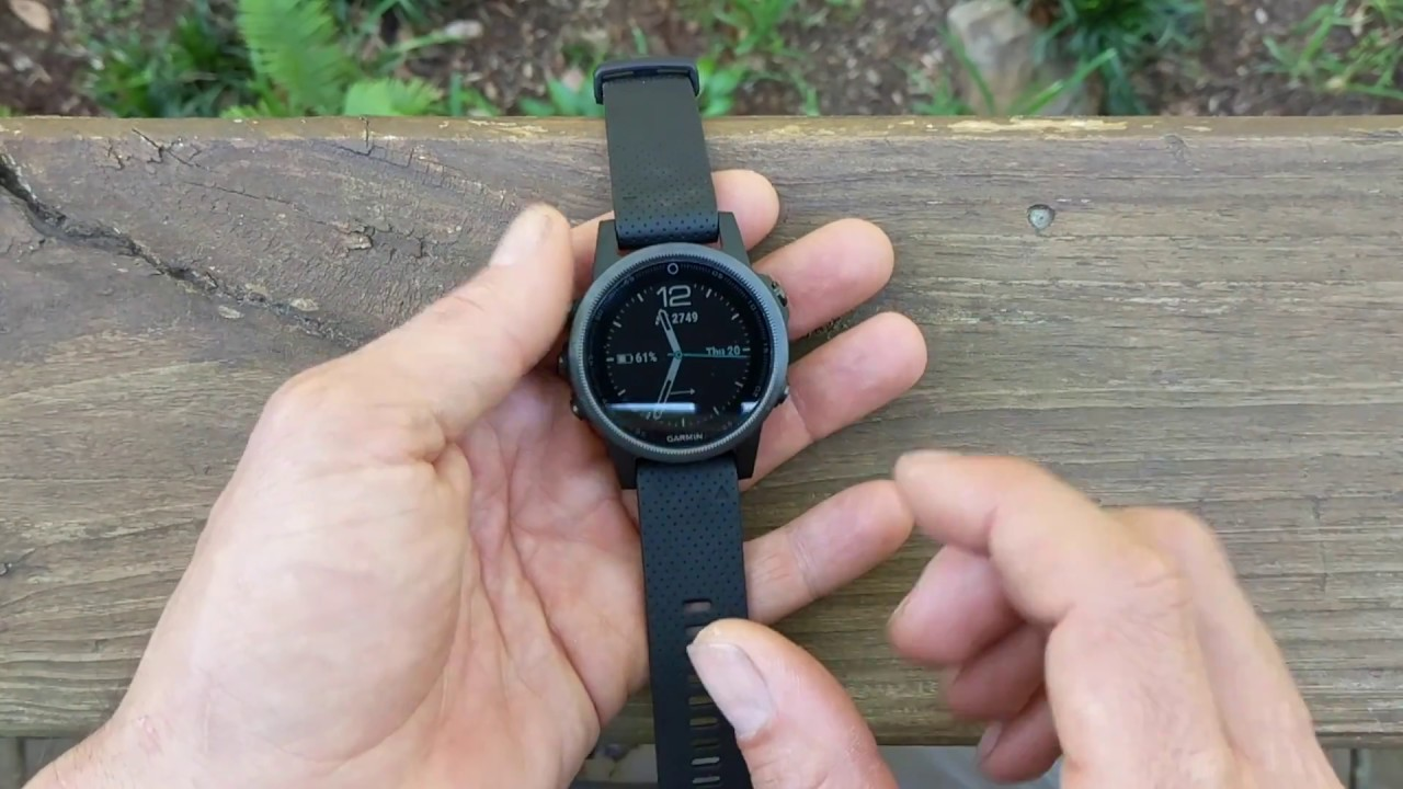 Garmin Fenix 5s Honest Review YouTube