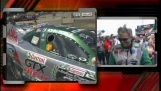 John Force Paul Lee FC RD1 Mile High Nationals 2010 Bandimere Raceway.mpg