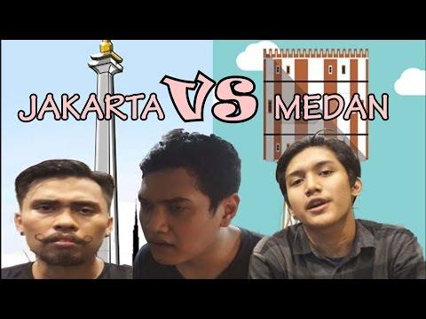 MEDAN VS JAKARTA (ft. Dikidi Channel)