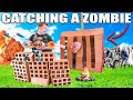 24 HOUR BOX FORT ZOMBIE BASE 😱📦 Zombie Trap!