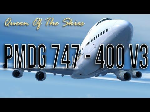 Flight Simulator Realism - PMDG 747 V3 -  Take Off Bali Cinematic Teaser
