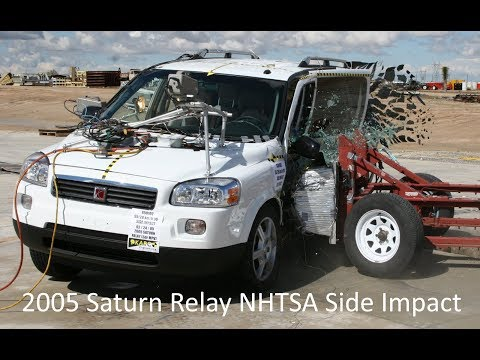 2005-2009 Chevrolet Uplander / Saturn Relay / Pontiac Montana SV6 NHTSA Side Impact
