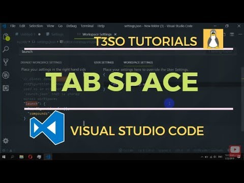 How To Set Tab Space Style In Visual Studio Code