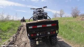 Грузовой квадроцикл Hummer Cargo: обзор от mot-o.com Video