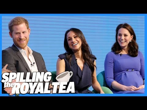 Meghan Markle & Prince Harry's  Date With Kate Middleton & Prince William   Spilling The Royal Tea
