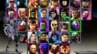 Mortal Kombat Trilogy - Secret Menu & Chameleon