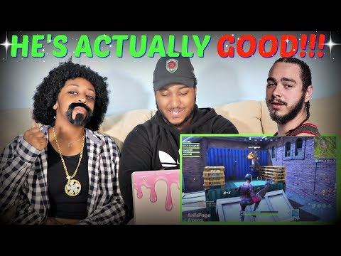 "Azerrz ""Sing Trolling on FORTNITE (Juice WRLD, Post Malone, & XXXTENTACION)"" REACTION!!"