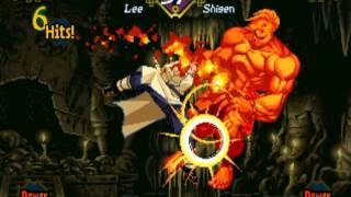 The Last Blade (Arcade/Neo Geo MVS) Playthrough as Lee