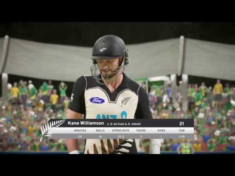 South Africa vs New Zealand.. Live. Full Match..  Don Bradman Cricket 2017 ps4 cricket