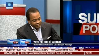 Donald Duke Criticises Late Budget Passage