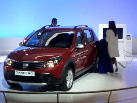 dacia sandero stepway youtube. Black Bedroom Furniture Sets. Home Design Ideas