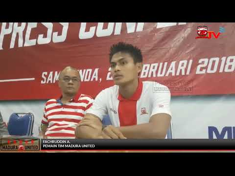 Post Match Press Conference Madura United vs Persiba Balikpapan