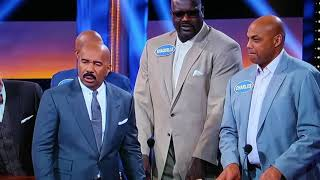 Charles Barkley Gives the Worst 'Celebrity Family Feud' Answer