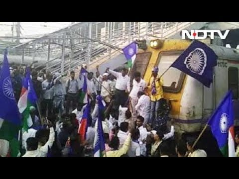 Maharashtra Bandh: Dalit protesters block traffic in Thane