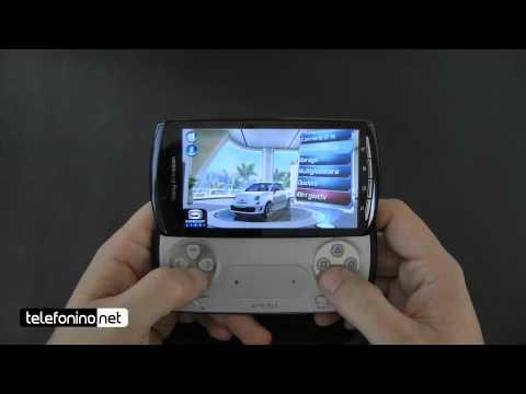 Sony Ericsson Xperia Play Videoreview Da Telefonino.net