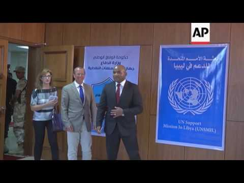 UN envoy at Libyan oil refinery ahead of pumping