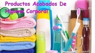 Productos Acabados  De Higiene Corporal