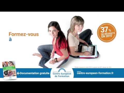 Publicité Centre Européen de Formation Petite enfance V1 Web