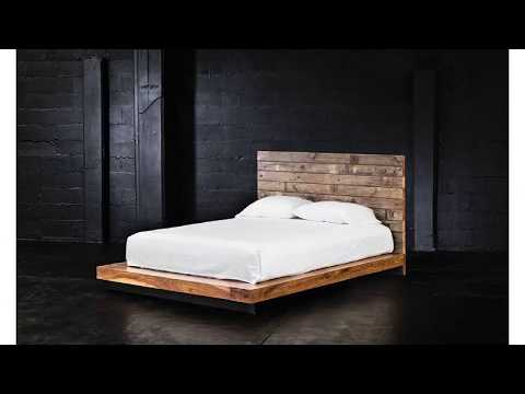 DIY Pallet Bed Frame with Headboard For Your Bedroom