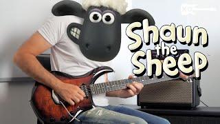 Shaun the Sheep Theme - Metal Guitar Cover by Kfir Ochaion - Spark видео