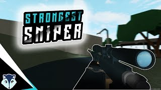 Best Beginning Sniper | This Sniper Is The Strongest | Roblox Phantom Forces | Best Sniper
