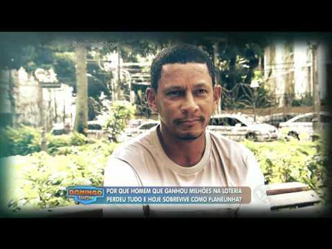 Homem que ganhou R$ 30 milhões na loteria hoje sobrevive como flanelinha