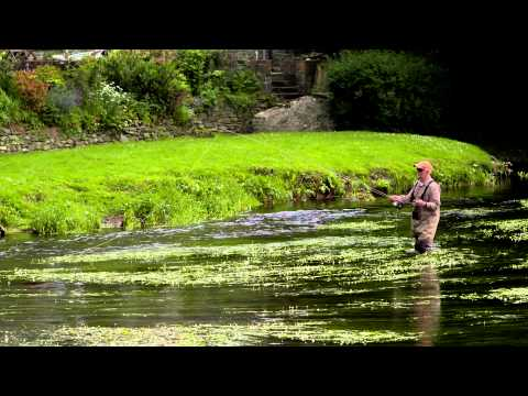 Fly fishing on the River Teifi / Pysgota â phlu ar yr Afon Teifi