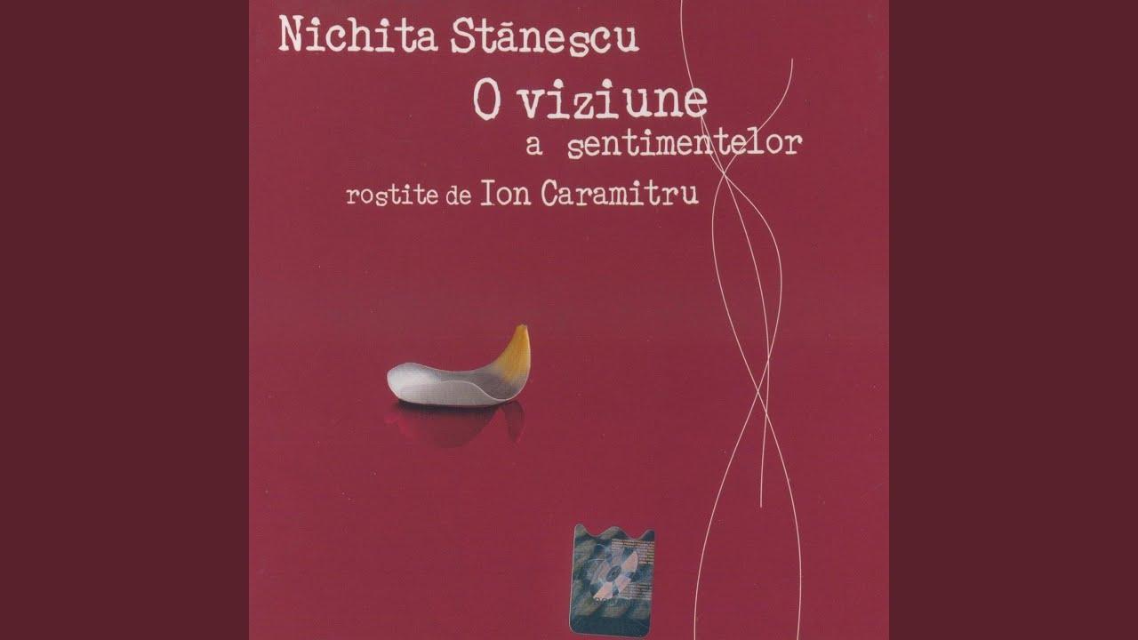 Nichita Stanescu- O Viziune a sentimentelor (Audiobook) by Ion Caramitru : Napster