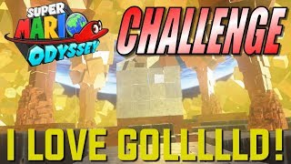 Activating All the Gold Blocks [OCD Challenge] | SUPER MARIO ODYSSEY (SPOILERS)