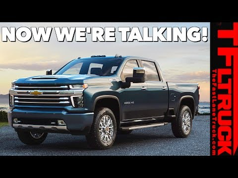 BREAKING NEWS! 2020 Chevy Silverado HD High Country Revealed: Is It Better Looking?