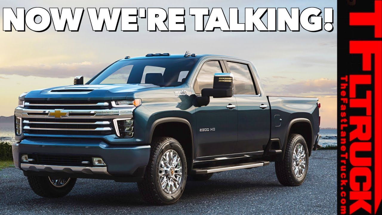 BREAKING NEWS! 2020 Chevy Silverado HD High Country ...
