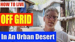 Live off grid in urban desert - Tips from Brad Lancaster, Tucson Arizona