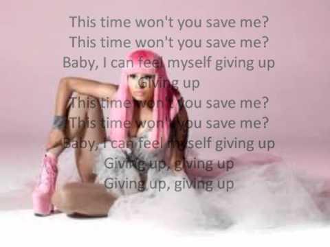 Nicki Minaj - Save me    [Lyrics on Screen]